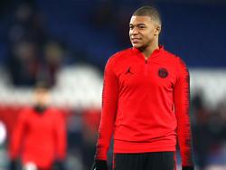 El joven delantero del PSG sufrió mucho con la eliminación de Champions. (Foto: Getty)