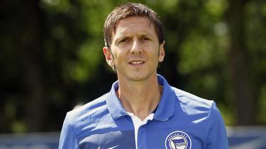 Harald Gämperle war bereits vor zehn Jahren Co-Trainer bei Hertha BSC
