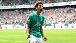 Yuya Osako hat sich beim SV Werder zum Leistungsträger gemausert