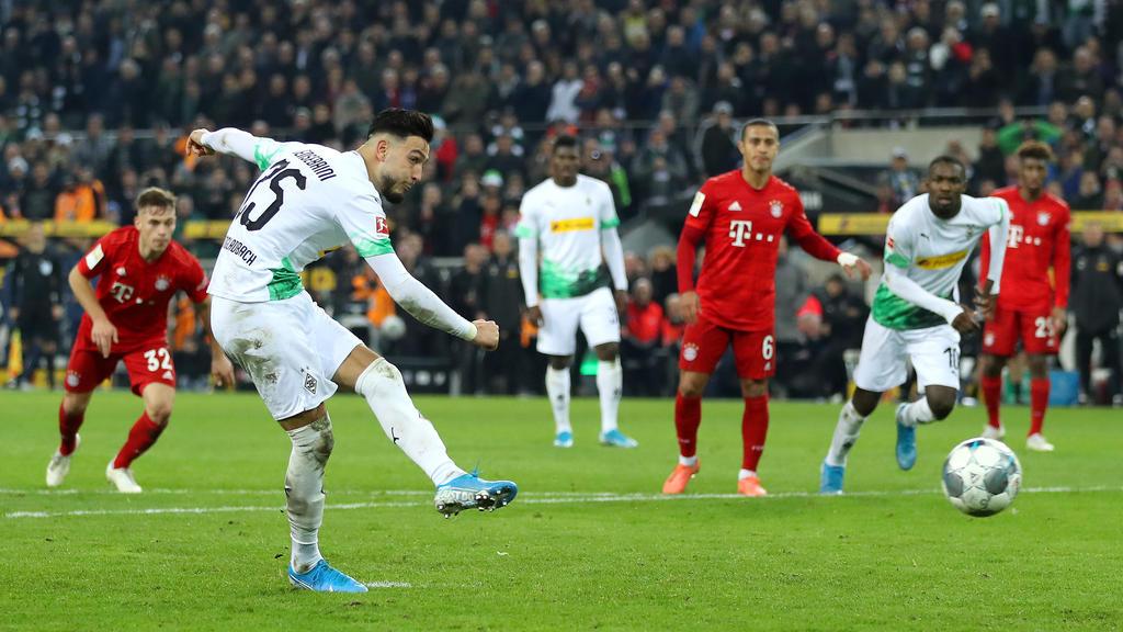 Gladbach besiegt den FC Bayern