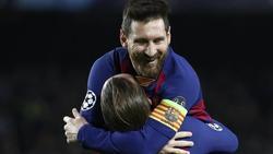 Barcelonas Star Lionel Messi war in der Partie gegen Borussia Dortmund der beste Mann auf dem Platz. Foto: Emilio Morenatti/AP/dpa