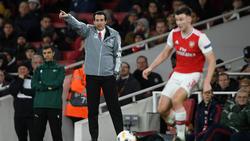 Nach der Niederlage gegen Eintracht Frankfurt wurde Emery beim FC Arsenal entlassen