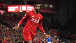 Divock Origi erzielte in der Premier League zwei Tore für den FC Liverpool