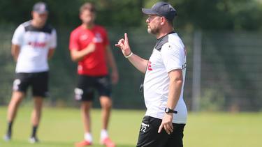 Steffen Baumgart will den 1. FC Köln wieder in die Spur führen