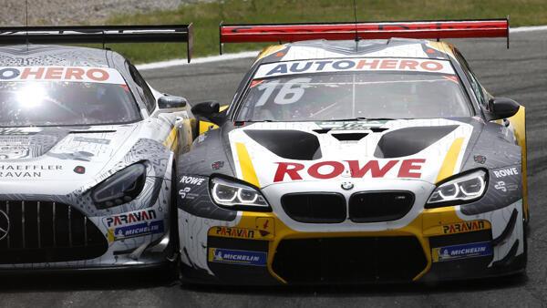 Beim DTM-Auftakt in Monza wurde teils hart gegeneinander gekämpft