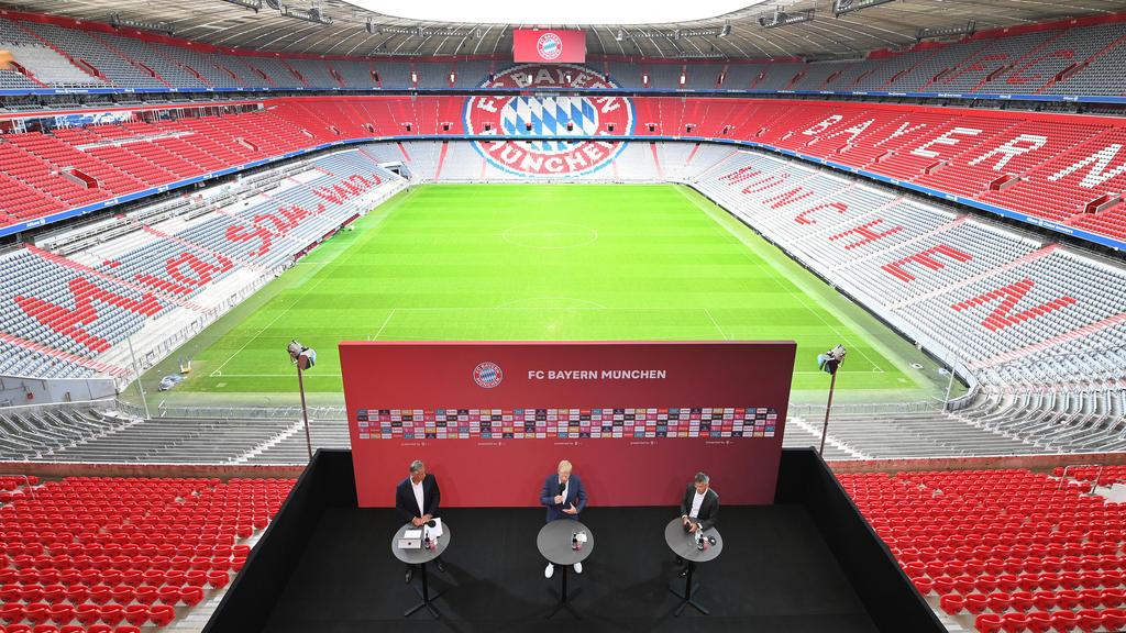 Bayern-Boss Hainer (re.) ist gegen Rhythmus-Verkürzung der WM