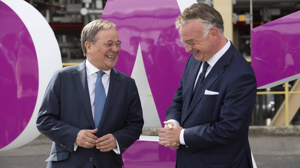 Christian Kullmann (r.) wird Aufsichtsratsvorsitzender beim BVB