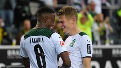 Denis Zakaria (l.) und Matthias Ginter könnten Gladbach verlassen