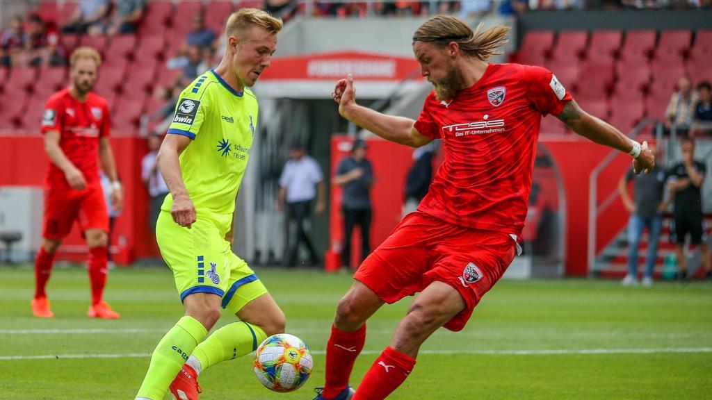 Tabellenführer Duisburg und Verfolger Ingolstadt messen sich am 21. Spieltag