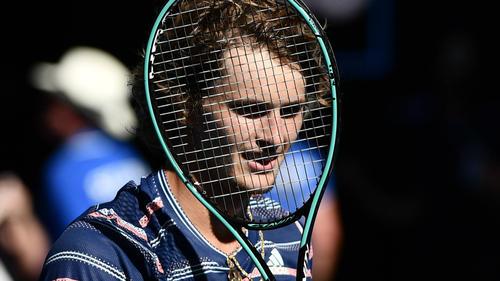 Alexander Zverev hat ausgerechnet bei den Australian Open zu seiner Topform gefunden