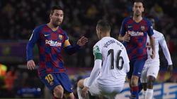 Lionel Messi traf für den FC Barcelona gegen Granada