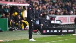 Auch gegen Borussia Dortmund musste Werder-Trainer Florian Kohfeldt mit seinem Team eine Niederlage hinnehmen