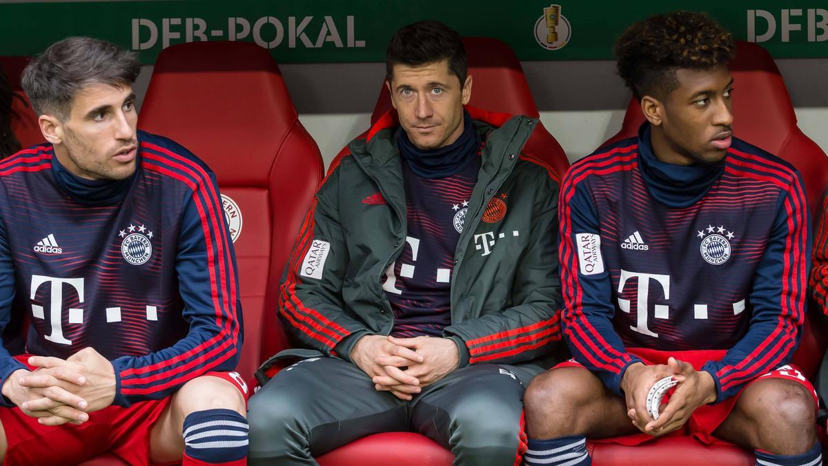 Robert Lewandowski wird dem FC Bayern in Madrid wohl fehlen