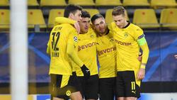 Der BVB steht im Achtelfinale der CL-Saison 2020/21