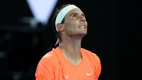 Rafael Nadal kämpft mit Rückenproblemen