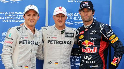 Die Poleposition 2012 in Monaco durfte Michael Schumacher nicht behalten