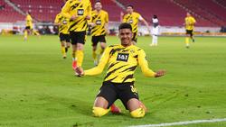 Ansgar Knauff markierte in Stuttgart sein erstes Bundesliga-Tor