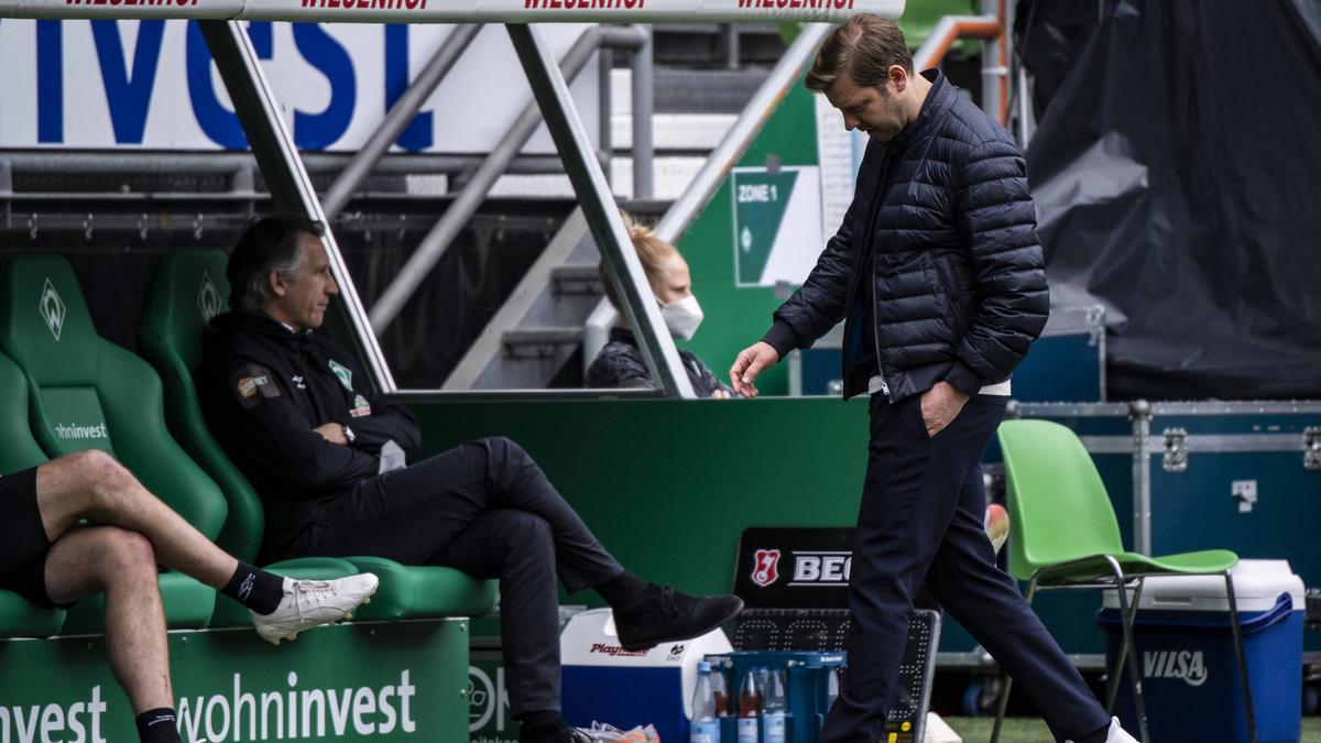 Muss Kohfeldt seinen Posten bei Werder Bremen räumen?