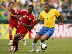 Freundschaftsspiel zwischen Brasilien und Kanada im Mai 2008