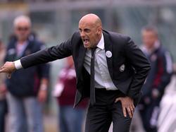 Domenico Di Carlo, ormai ex allenatore del Livorno