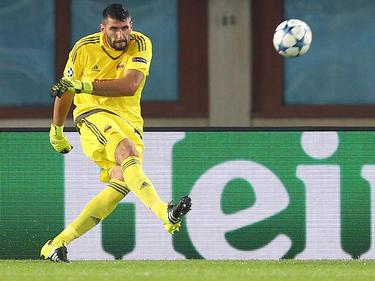 Rapid-Torhüter Ján Novota ist Reservekeeper im slowakischen Nationalteam und hat gar nicht so schlechte Karten auf eine EM-Teilnahme