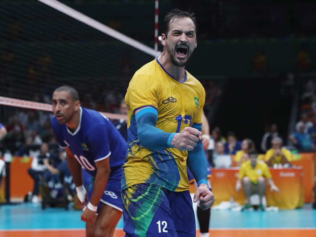 Luiz Felipe Marques Fonteles und die brasilianische Mannschaft stehen im Finale
