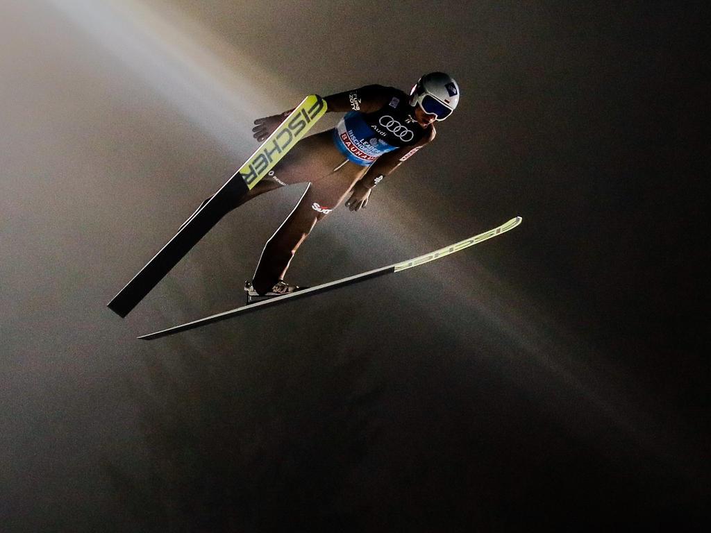 Kamil Stoch landete in beiden Durchgängen den weitesten Sprung