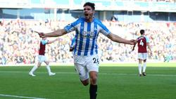 Christopher Schindler traf für Huddersfield zum 1:1