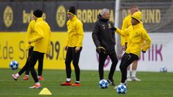 BVB-Trainer Lucien Favre plagen große Personalsorgen
