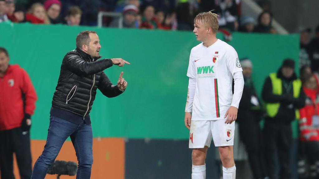 Manuel Baum fordert den nächsten Sieg seiner Augsburger