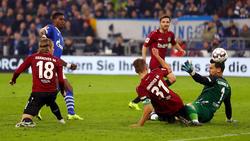 Breel Embolo erzielte den Treffer zum zwischenzeitlichen 2:1 für Schalke