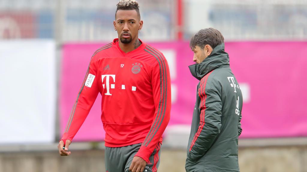 Unter Kovac Edelreservist: Jérôme Boateng