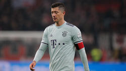 Robert Lewandowski fehlte im Training des FC Bayern