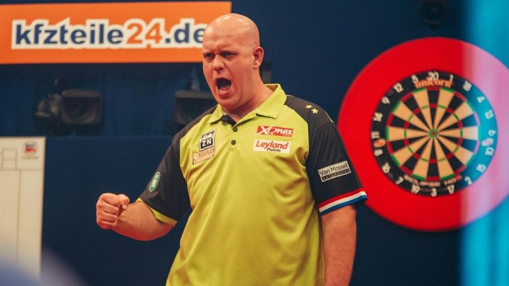 In Köln am Start: Michael van Gerwen