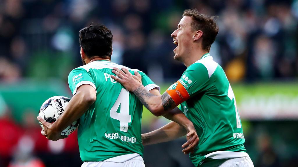 Spielen Pizarro und Kruse auch nächste Saison für Werder Bremen?