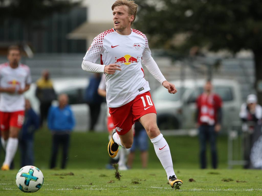 Emil Forsberg traf gegen Konyaspor