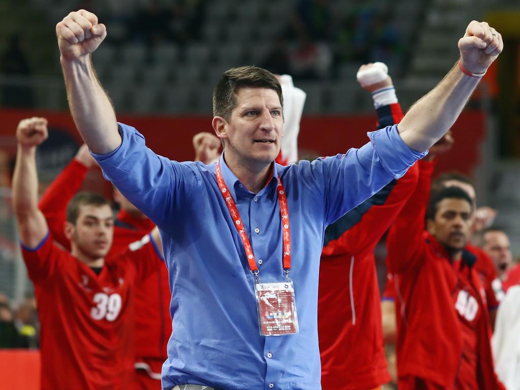 Tschechien schlägt Mazedonien bei der Handball-EM