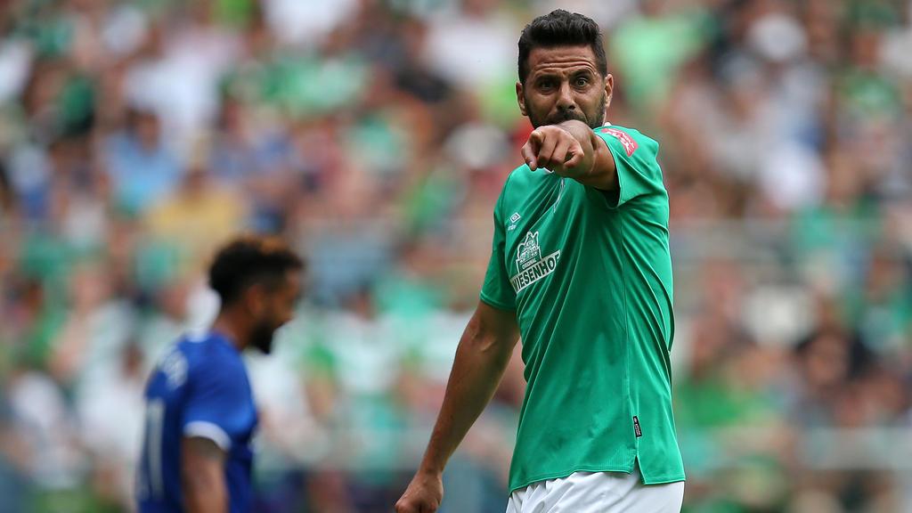 Claudio Pizarro geht in seine letzte Saison