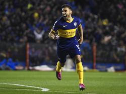 Salvio está completando un inicio espectacular con Boca.