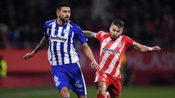 Maripán con el Alavés contra el Girona.