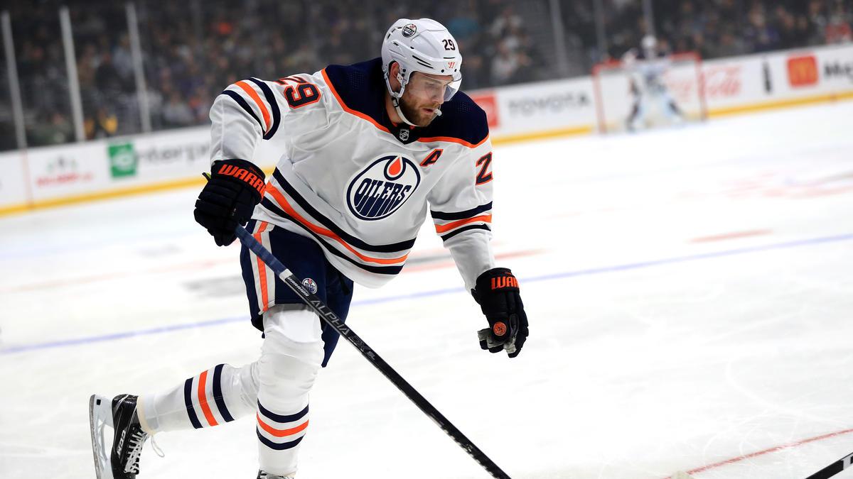 Leon Draisaitl war gegen die Vancouver Canucks wieder einmal der überragende Mann auf dem Feld