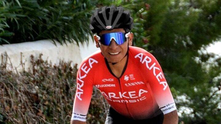 Mit Arkea-Samsic bei der Tour dabei: Nairo Quintana