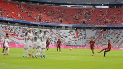 Der FC Bayern verlor den Test gegen Gladbach mit 0:2