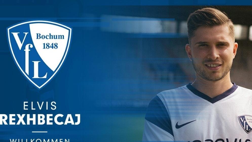 Der VfL Bochum leiht Elvis Rexhbecaj aus