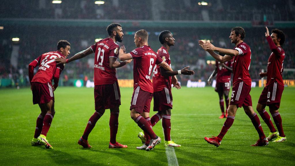 Klarer Sieg für den FC Bayern im DFB-Pokal
