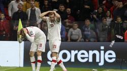 In Albanien erlebte die polnische Nationalmannschaft bedrohliche Szenen