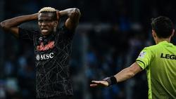 Osimhen wechselte für über 70 Millionen Euro zu Neapel