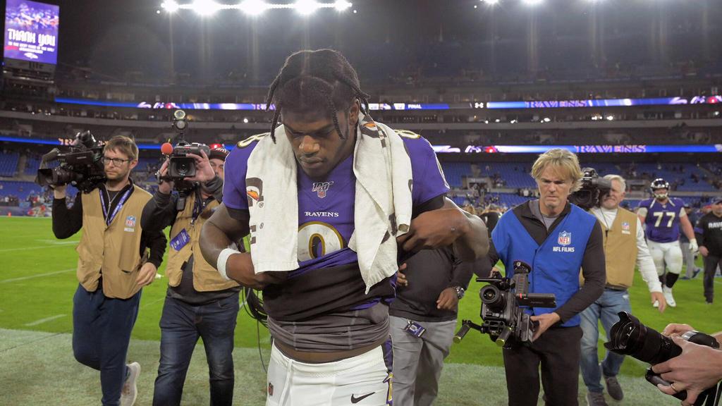 Hat mit den Baltimore Ravens das NFL-Halbfinale verpasst: Lamar Jackson