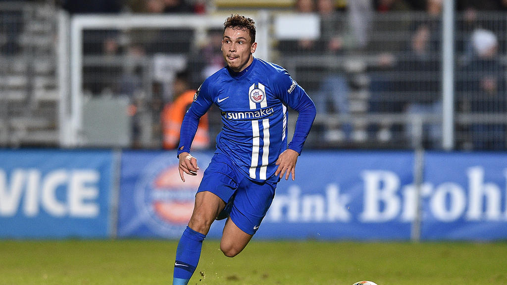 Hansa Rostock feiert in der 3. Liga einen Heimsieg