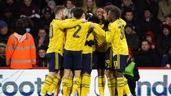 Der FC Arsenal siegte ohne Mesut Özil
